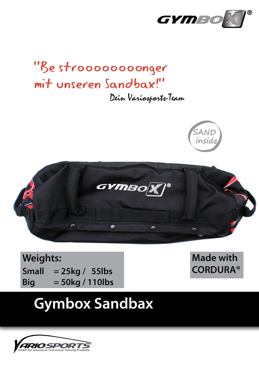 sandbags von gymbox sandbax. Black Bedroom Furniture Sets. Home Design Ideas