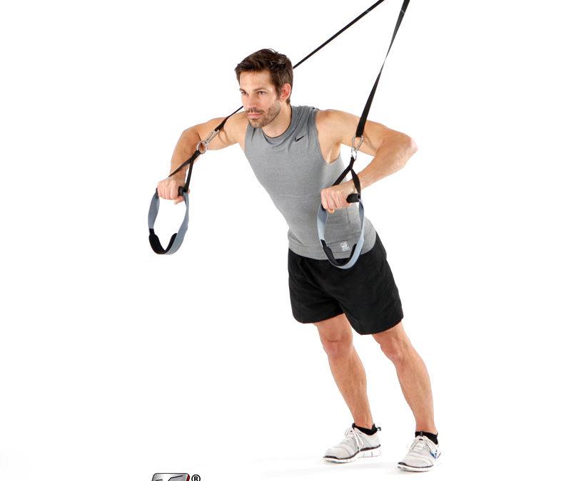 Die besten 5 Übungen für ein schnelles Sling trainer workout im Homeoffice