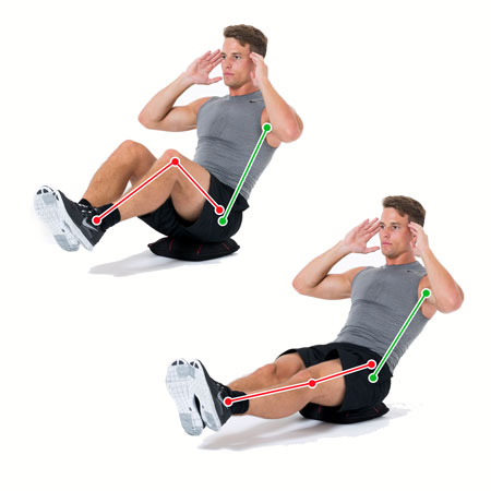 Crunch Balanced Legs