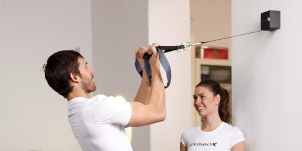 Installation des Gymbox Schlingentrainers