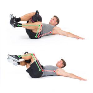 Kettlebellübung für die schräge Bauchmuskulatur