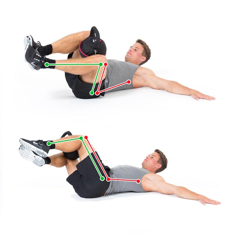 Kettlebell Exercise Siderotation Legs Weighted with Smashbell