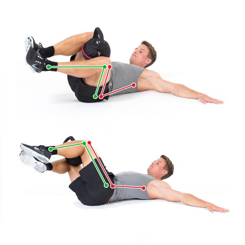 Siderotation Legs Weighted