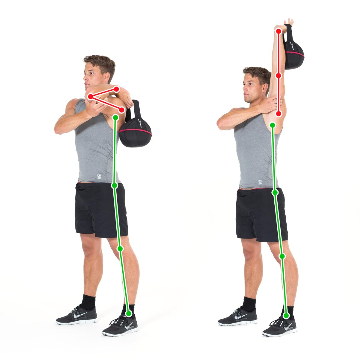 kettlebell exercise for the tricpes with the smashbell. Black Bedroom Furniture Sets. Home Design Ideas