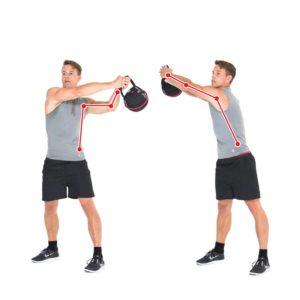Kettlebellübung High Rotation