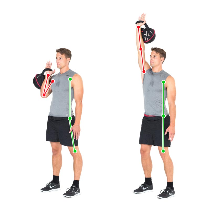 Kettlebell Exercise For The Shoulder Muscles With The