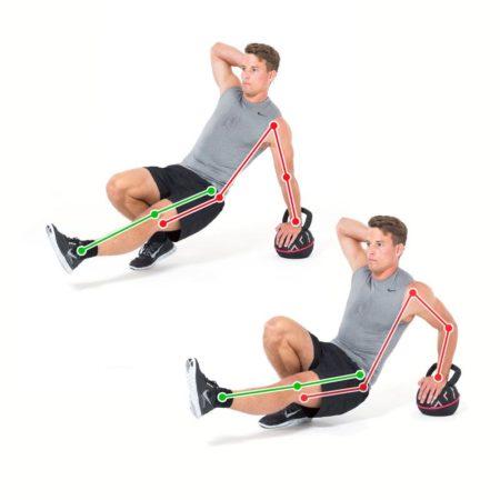 Triceps Push One Arm
