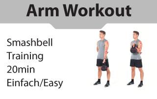 Kettlebell Arm Workout leicht