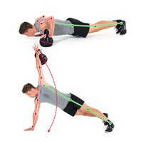 Chest Press Rotate Rowing