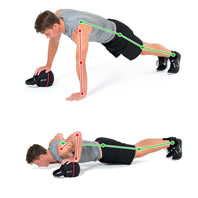 Push-up Side-to-Side